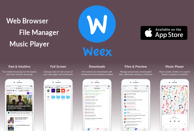 Weex - Web Browser & File Manager